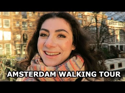 AMSTERDAM WALKING TOUR - TRAVEL VLOG 241 | ENTERPRISEME TV