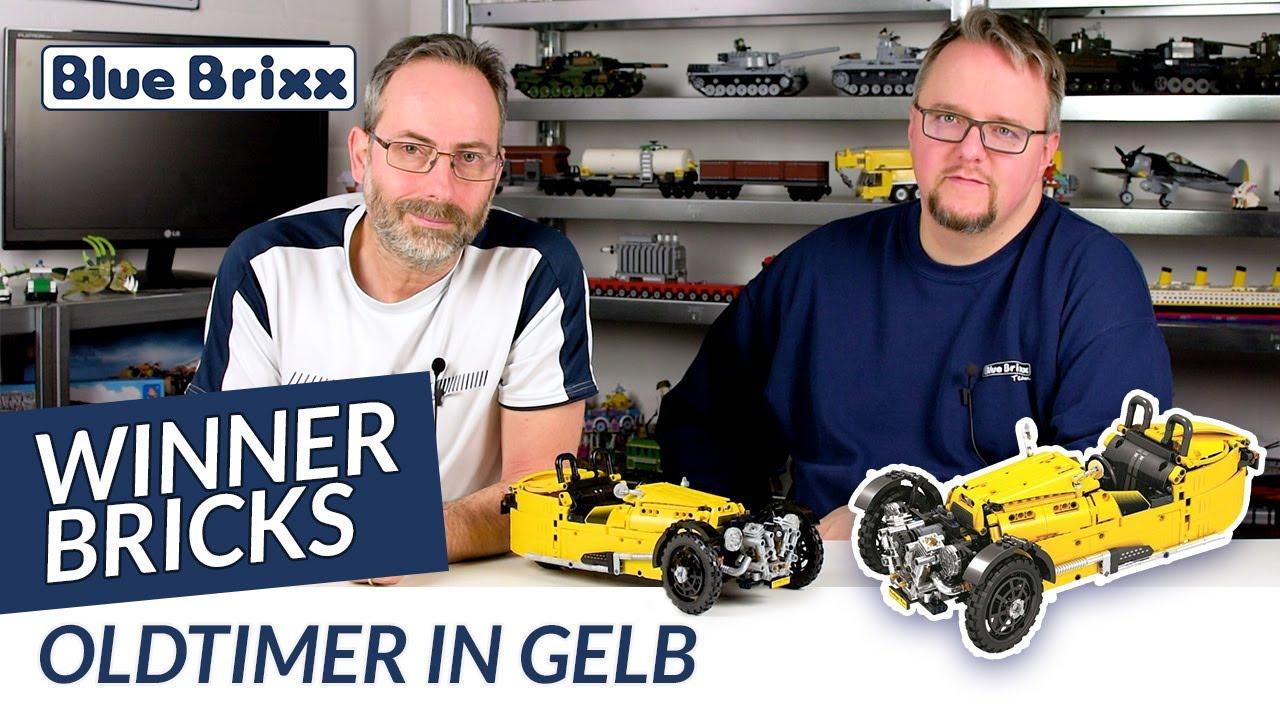 Winner Bricks 1274 Rettungshubschrauber Klemmbausteine Hubschrauber Technik NEU