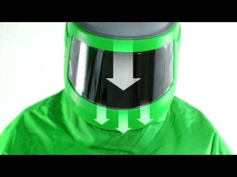 Blasting helmet NOVA3