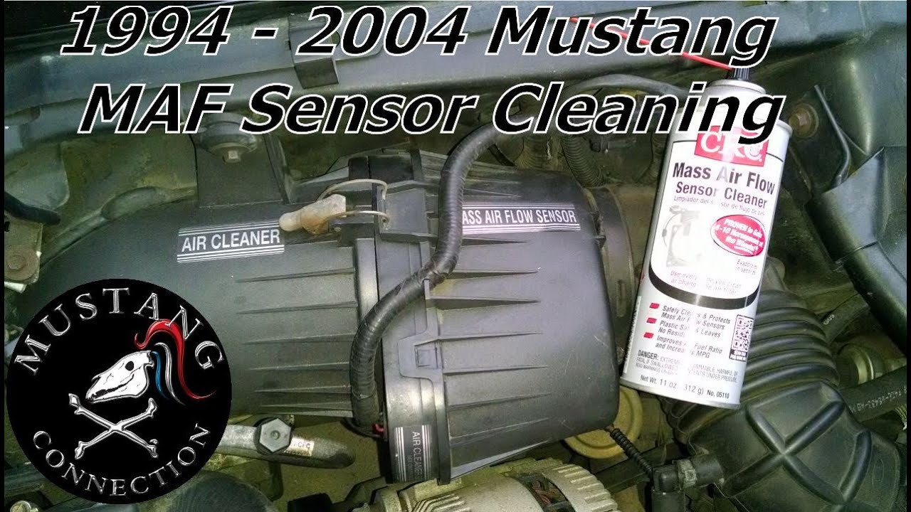 medium resolution of how to clean 1995 mustang gt maf sensor sn95 and sn95ll 1994 to 2004 mustang mass air flow sensor