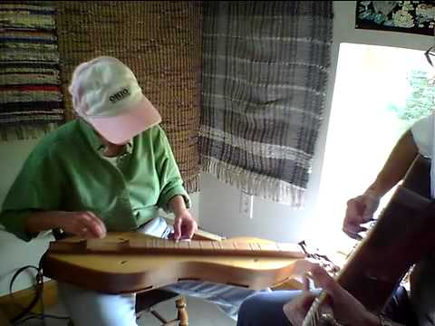 Route 155 Waltz on lap dulcimer & guitar