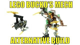 LEGO NINJAGO 70599 ALTERNATIVE BUILD BUCKO'S MECH