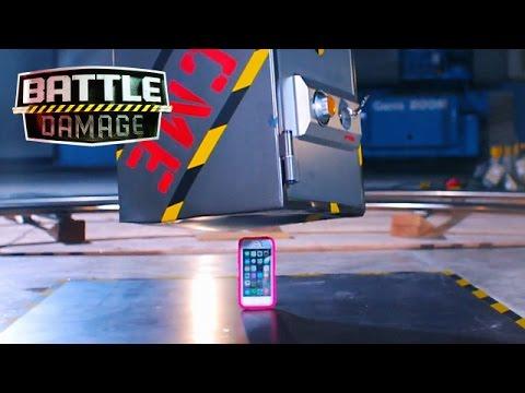 50-pound Safe Folds iPhone in Half  | Battle Damage