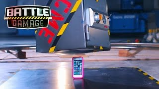 50-pound Safe Folds iPhone in Half  | Battle Damage