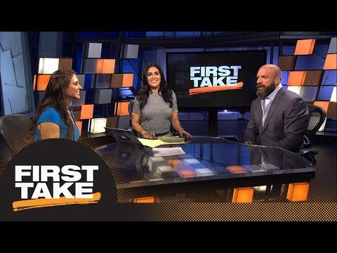 Stephen A. asks Triple H and Stephanie McMahon to name biggest WWE Superstar ever | Fist Take | ESPN