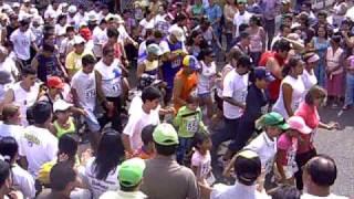 Caminata Internacional de la frontera 2009: Partida prueba recreativa