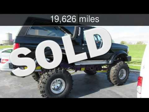 1993 Ford Bronco Custom Used Cars St Charles Missouri