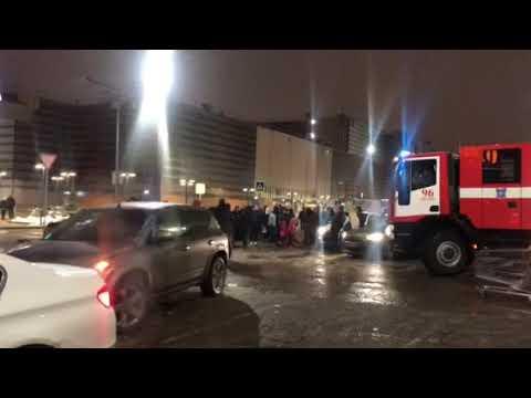Эвакуация Мега Химки, 30.12.18. Угроза взрыва.