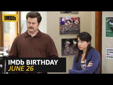 IMDb Birthday: Aubrey Plaza and Nick Offerman