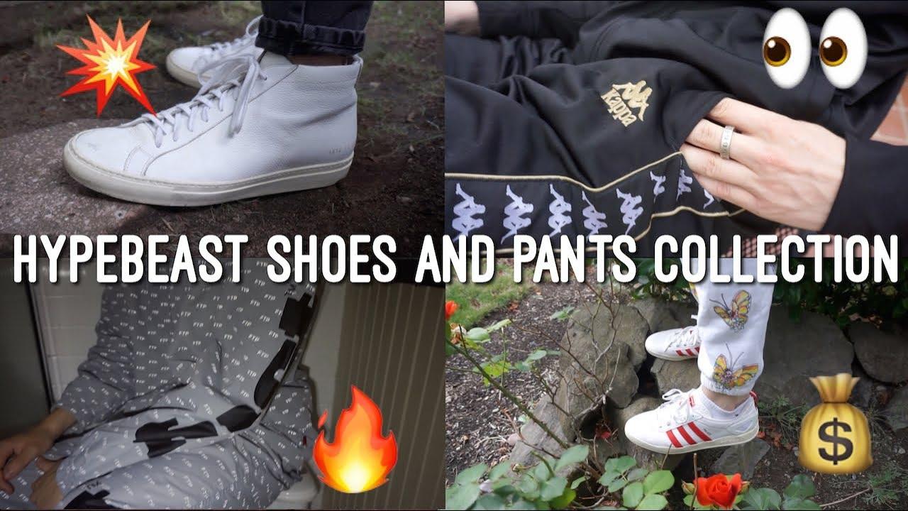 f9e09f93537e Hypebeast Shoes and Pants Collection! (Supreme
