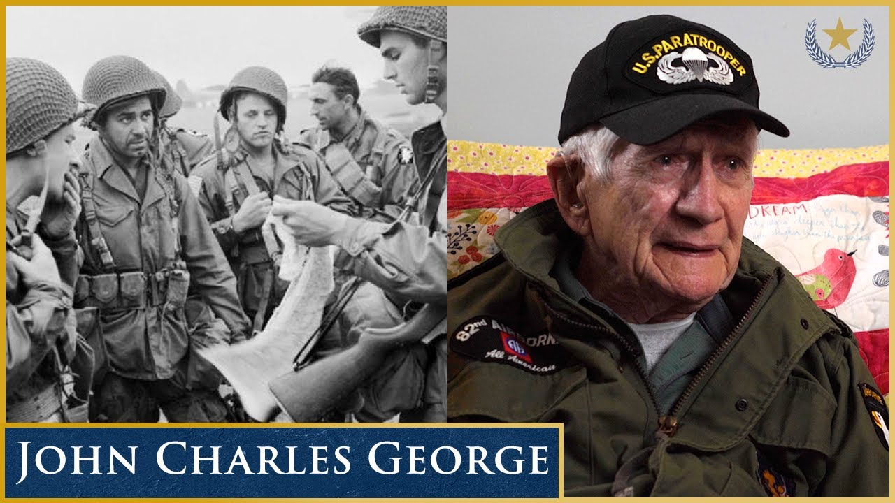 101st Airborne Division Paratrooper John Charles George (Full Interview)