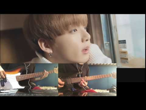 BTS - Spring Day MV Guitar And Bass Cover