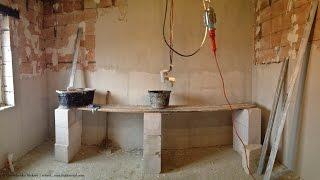 Строим дом из газобетона, часть 6.  Дом из газобетонных блоков.  Как самому построить дом