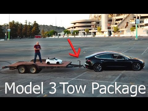 Tesla Teardown! - Install a Tow Hitch on a Model 3!