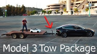 Tesla Teardown! - Install a Tow Hitch on a Model 3!