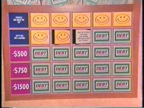 Debt Game Show Taped July 1996 Aired December 1996 On Lifetime