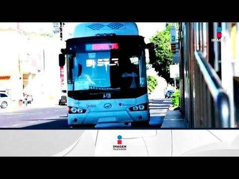 Este es el Este es el Qrobús , el nuevo transporte en Querétaro | Noticias con Francisco Zea