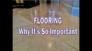Flooring, Why It's Important When Selling