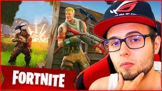 WE'RE TRYING FORTNITE, BATTLE ROYALE FOR FREE!
