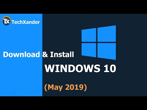 Download & Install Windows 10 | May 2019 Update | 1903 | From Scratch