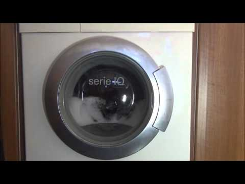 Siemens Serie IQ 1430 Washing Machine : Curtains 30'c full load