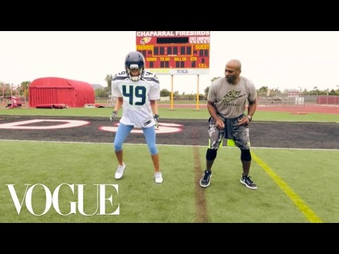 The Princess and the Super Bowl: Watch Vogue's Elisabeth TNT Train Like an NFL Pro