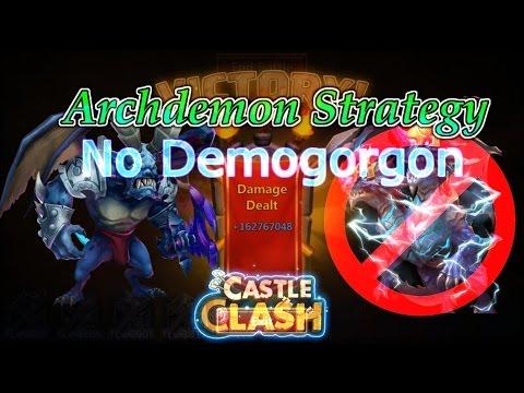 Castle Clash Archdemon Strategy (No Demogorgon)