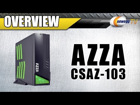 AZZA Mini-ITX Computer Case Overview - Newegg TV