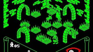 Knight Lore Walkthrough, ZX Spectrum