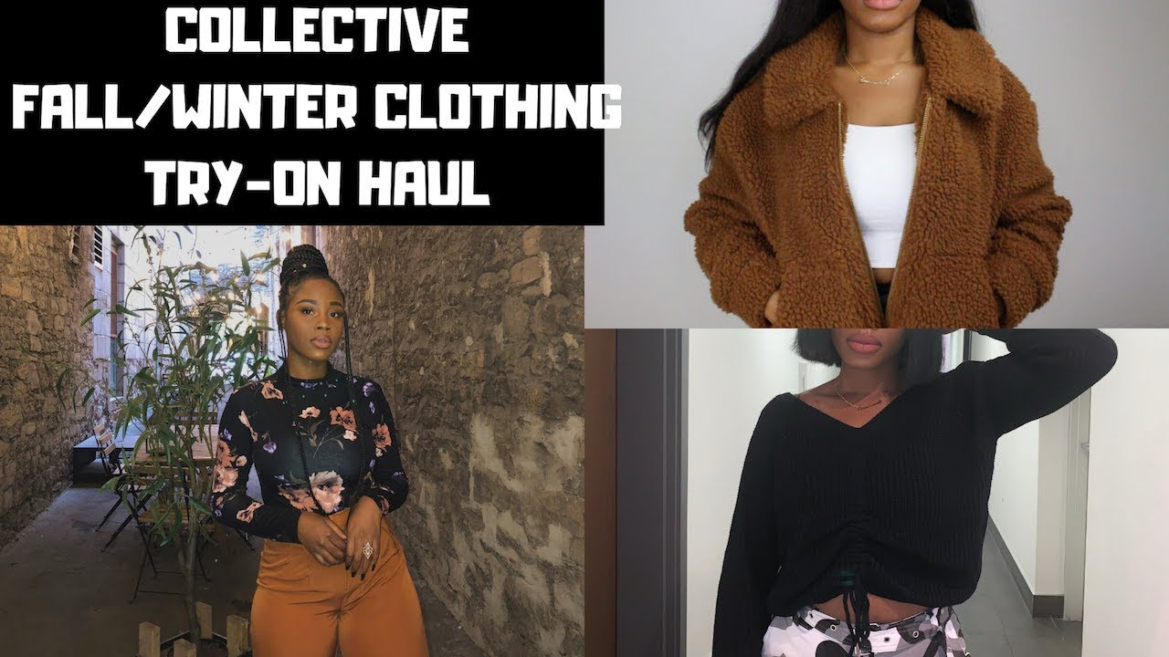aab69fe9e0 LONG OVERDUE FALL/WINTER CLOTHING TRY ON HAUL: Garage, Dynamite, Shein,  Sirens.