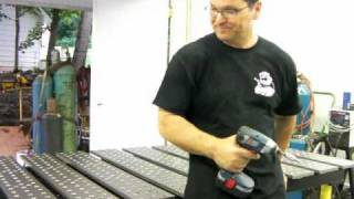 Metal Fabrication Welding Table -  Build Pro Table By Stronghand Tools