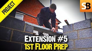 Building an Extension #5 - Up to the joists