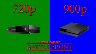 Low Res Of Star Wars: Battlefront On Consoles = A Short 8th Gen
