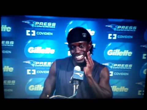 Deion Branch interview .
