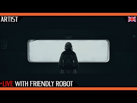 "Live Interview with Friendly Robot About ""No Signal"" and more 