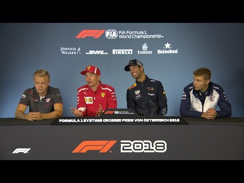 2018 Austrian Grand Prix | Pre-Race Press Conference