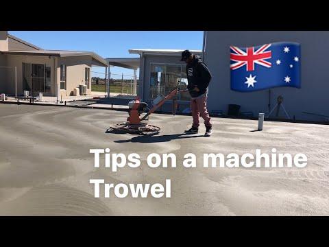 How to use a concrete chopper