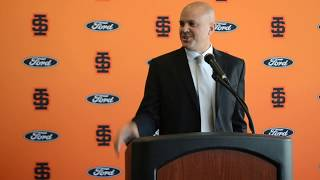 Ryan Looney introductory press conference