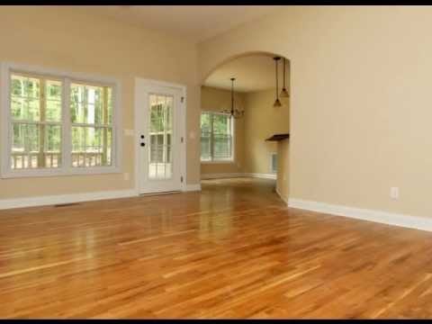 One story custom home under 1500 sq ft the bethesda youtube - Determining square footage of a house photos ...