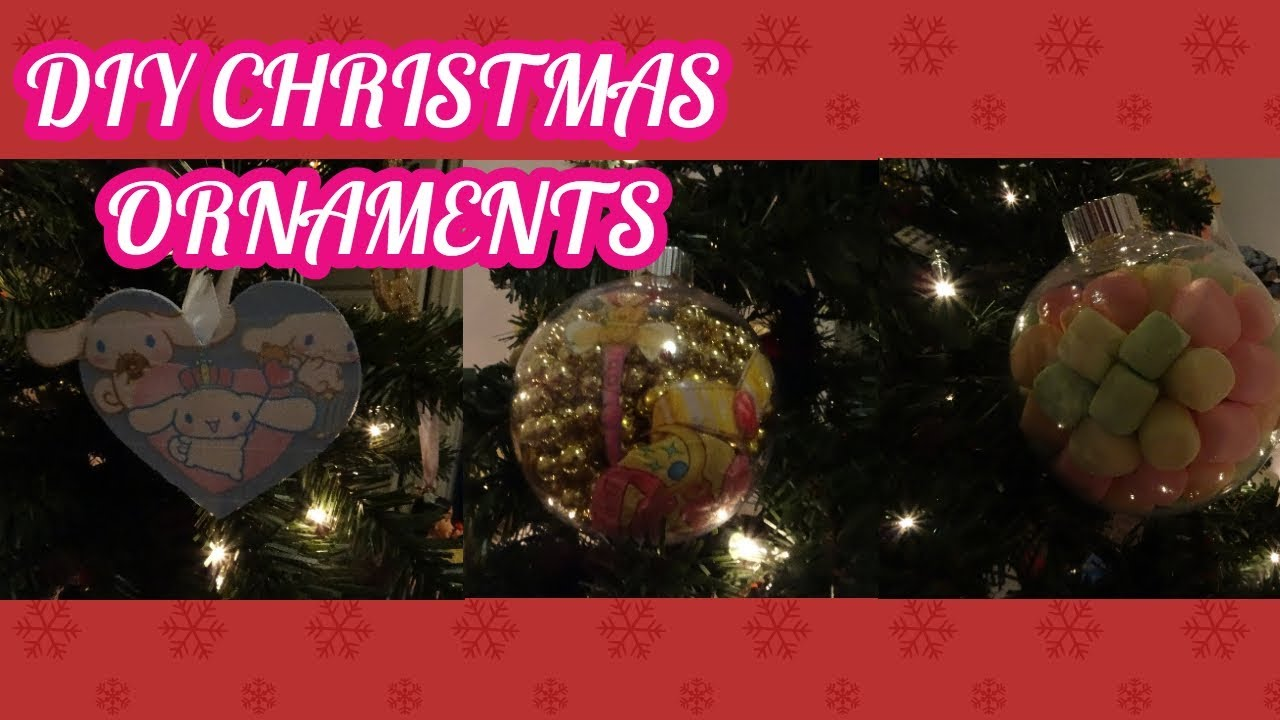 DIY CHRISTMAS ORNAMENTS WOW SO ORIGINAL~ Pepperbear