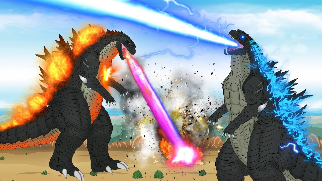 Godzilla Trailer | Godzilla Power | Atomic Breath | BD Kartun Mela