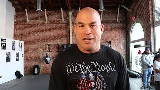 TITO ORTIZ TALKS ABOUT HIS 18 WEEK TRAINING CAMP AND SHARES HILARIOUS STORIES ABOUT CHUCK FROM WHEN
