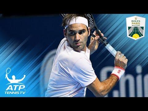 Roger Federer MAGIC shots v Kei Nishikori | Paris 2018
