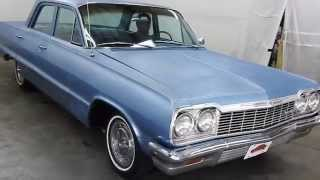 DustyOldCars.com 1964 Chevrolet Biscayne Blue SN 1152