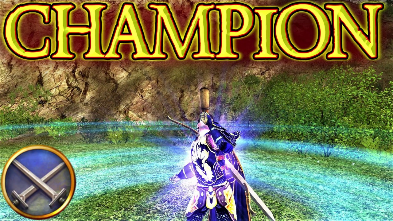 LOTRO: Champion Gameplay 2017 - Lord of the Rings Online | 2017 Gameplay
