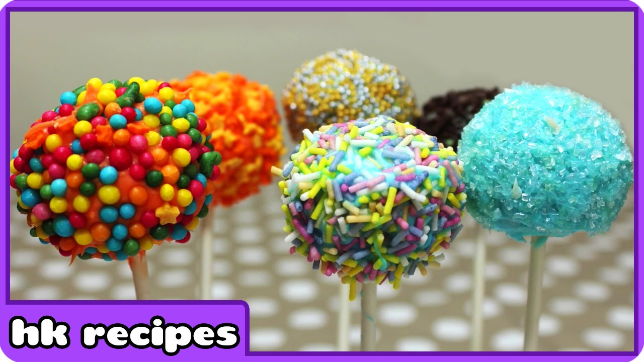 Colorful Cake Pops Recipe Diy Quick And Easy Recipes Fun Food For Kids By Hooplakidz Recipes Youtube
