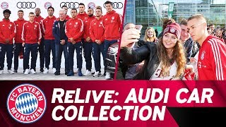 ReLive | ⚽️➡️🚗 The 2017 Audi car collection day