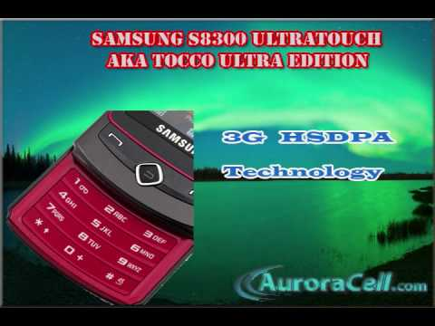 Samsung S8300 Tocco Ultra Touch Edition