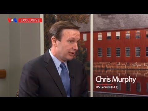 VOA Persian Exclusive Interview with U.S. Senator Chris Murphy (D-CT)