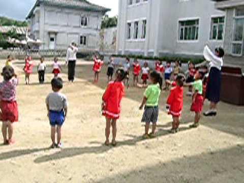 A visit to a North Korean nursery